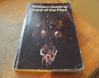Lord of the Flies paperback vintage