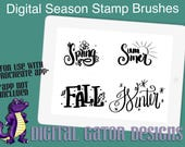 Seasons Stamp Brushes