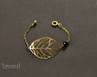 """Vintage 1 """"leaf"""" bracelet"""