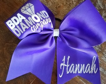 Custom Team Cheer Bows / Softball Bows / Dance Bows