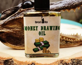 Money Drawing Oil ~ 1/2 oz