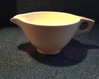 Vintage Melmac yellow creamer pitcher