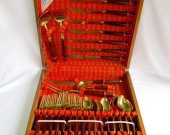 Asian Flatware James Quality Jewellers Thailand Brass Vintage Free Gift Included