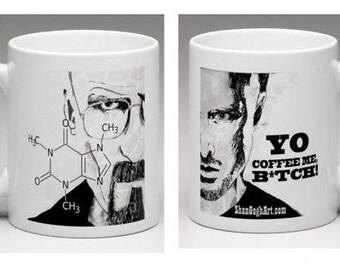Breaking Bad - Walt and Jesse Mug - 15 oz - Perfect Gift!