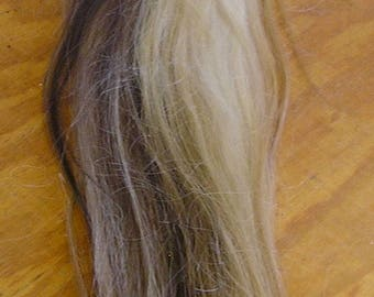 White/Red/Flaxen Horse Tail