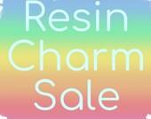 Various Resin Charms Keyrings Sale