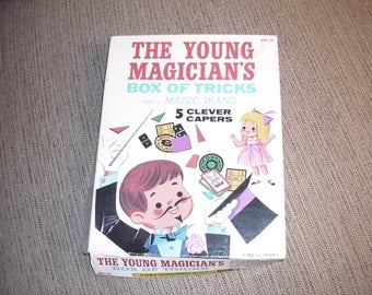 1970's Magic Kit. The Young Magicians Box of Tricks