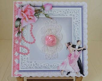 Wedding Day Card, Anniversary Card