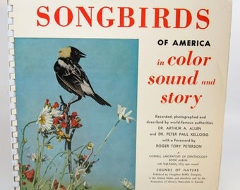Songbirds Of America Booklet & LP Record