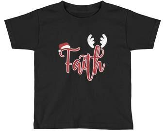 Faith Holiday Kids Short Sleeve T-Shirt