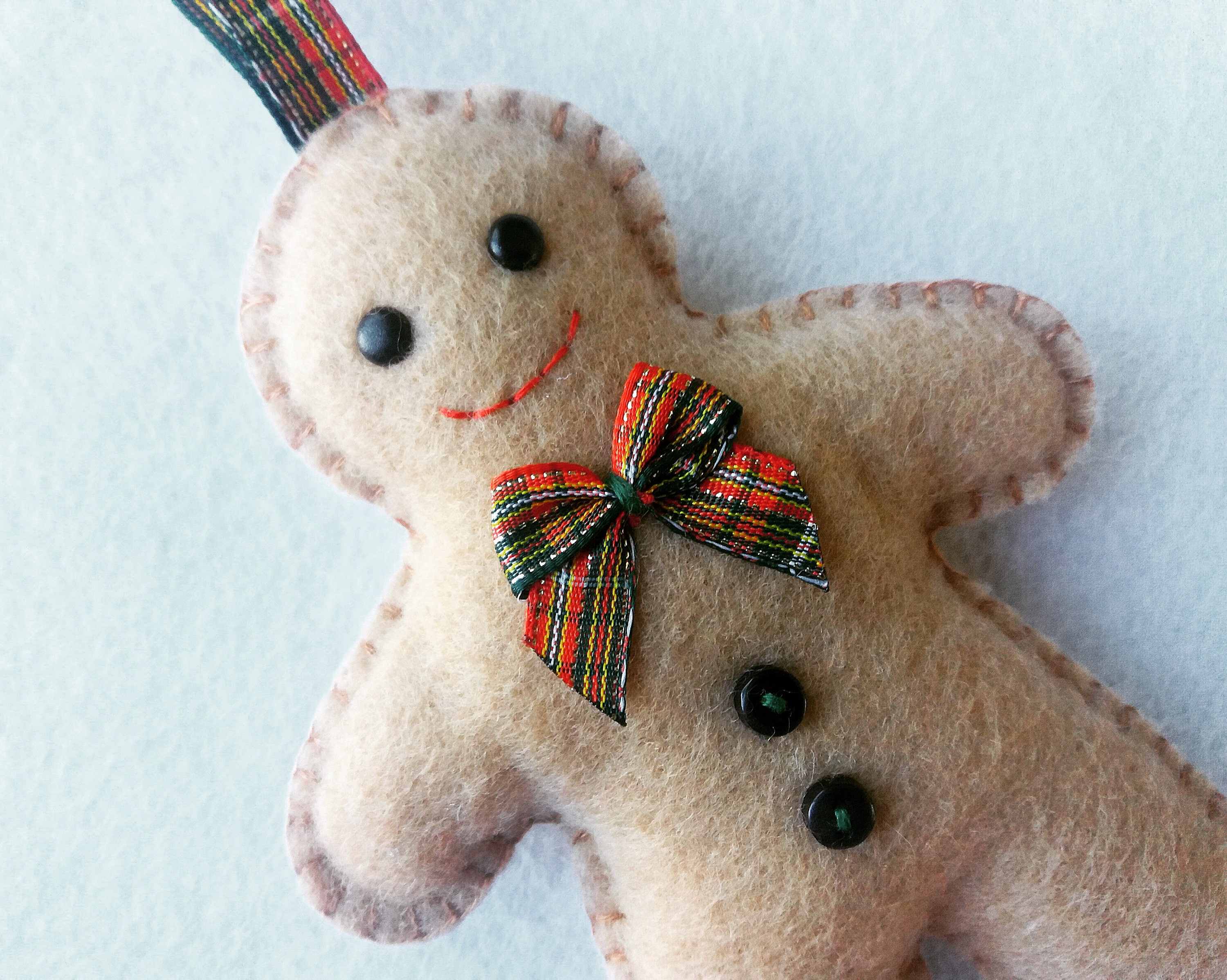 Gingerbread Man PDF Sewing Pattern And Tutorial Instant
