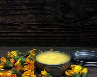 Calendula Salve, Calendula Balm, Botanical Salve, Skin Salve, Holistic, Organic