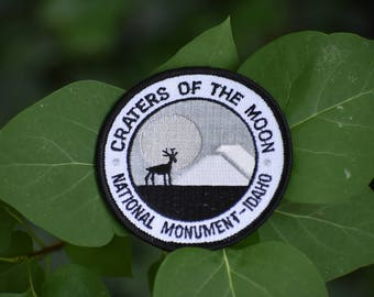 Vintage Craters of the Moon National Monument Patch