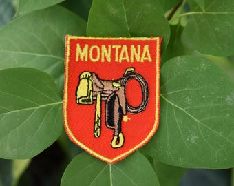 Vintage Montana Travel Patch
