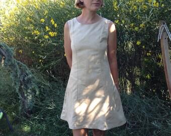 edelweiss suede dress