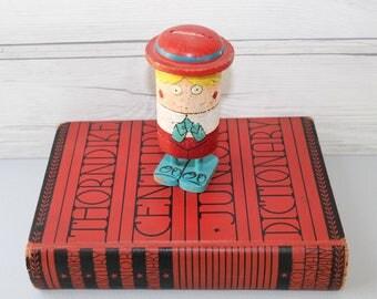 Vintage Popsie Pride Creations Push Down Happy Birthday Greeting Doll, Vintage Pride Creations Novelty - Happy Birthday to a Real Swinger
