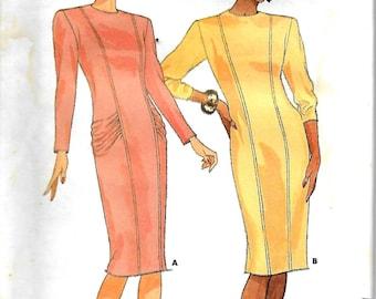 Butterick 4177    Misses Semi-Fitted Dress   Size 8,10,12    Uncut