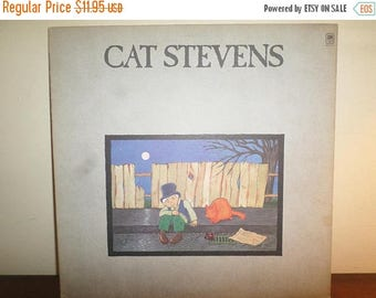 Save 30% Today Vintage 1971 Vinyl LP Record Cat Stevens Teaser and the Firecat Excellent Condition 11332