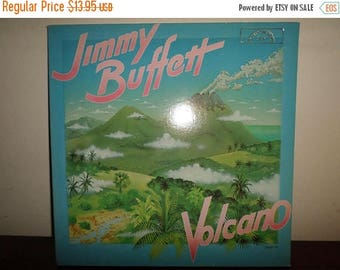 Save 30% Today Vintage 1979 LP Record Jimmy Buffett Volcano Near Mint Condition 11605