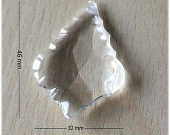 Tassel / diamond 30 mm acrylic