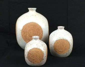 Three - Raymor Vases - Mid-Century Modern - MCM - Italy