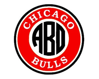 Chicago Bulls Decal Etsy - Custom car decals houston   how to personalize