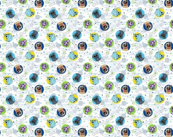 Disney Fabric Puppy Dog Pals Fabric Dog Pals From Springs Creative 100% Cotton