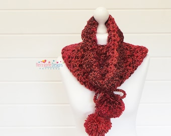 COWL CROCHET PATTERN By Kerry Jayne Designs Crochet Cowl Pattern Crochet scarf pattern Crochet Snood pattern Crochet pattern Pdf Pattern Uk