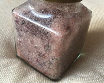 Handmade natural bath salts