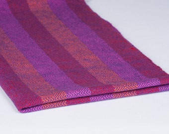 100% Cotton Dish Towels Red Orange Purple Twill Stripe Gift Housewarming Holiday