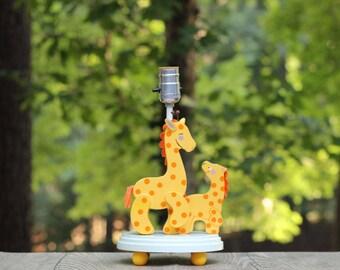vintage nursery originals giraffe lamp giraffe nursery lamp wooden giraffe lamp mama and - Giraffe Lamp