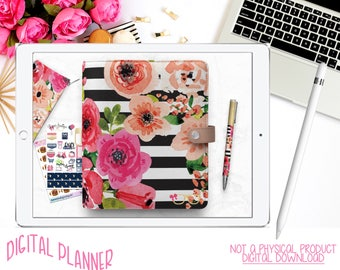 Digital Planner | Goodnotes Planner | iPad | iPhone | Tablet Planning | Working Tabs