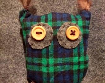 Owl Cat Toy with Catnip