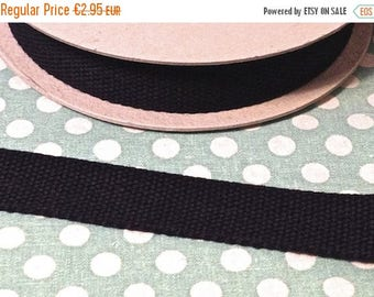 Summer Sale Cotton belt 3 cm black