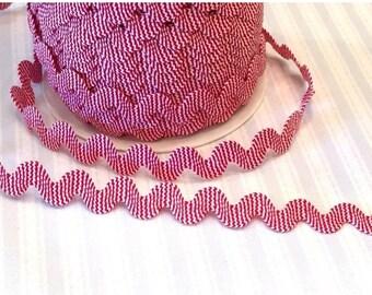 Summer Sale Rickrack stripe red/white