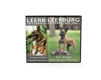 Leerburg's Bringing Your Puppy Home DVD SET