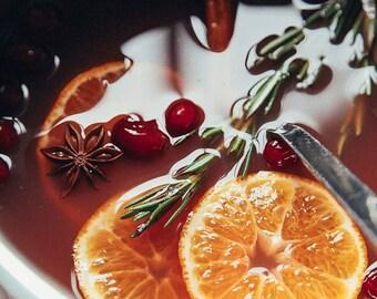 Pomegranate Cider Holiday Scent Home Fragrance Oils Uncut .5(1/2)oz