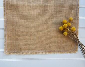 Burlap & Lace Table Runner- Farmhouse Decor - Table Decor - Tablescape - Rustic Decor - Dining Room Decor