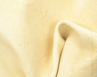 "Caramel Macchiato Leather New Zealand Deer Hide 12"" x 12"" Pre-Cut 2 ounces TA-56435 (Sec. 6,Shelf 6,A)"