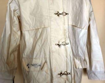 Ivory Colour Waterproof Coat