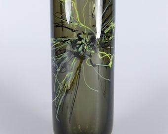 Czech art glass vase, Petr Hora Škrdlovice