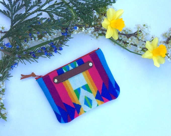 Spring NW zip wallet