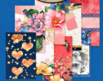 Dashboard Pocket, Field Notes, Travelers Notebook, Filofax, Daily Planner: Celebrate Our Love A