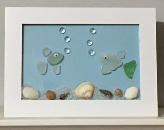Sea Glass Fish Etsy