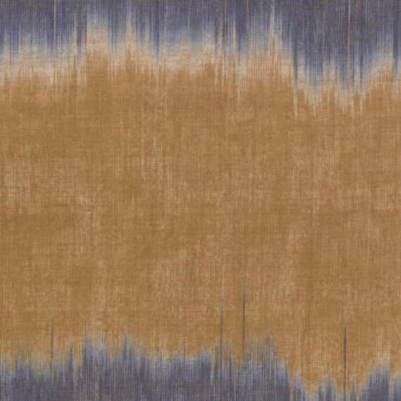 BLUSH IKAT Blue Brown ARTISAN Kaffe Fassett Sold in 1/2 yd increments