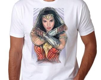 Wonder Woman Unisex T-shirt Gal Gadot