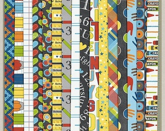 ON SALE NOW 65% off The School Years Digital Patterned Paper Pack