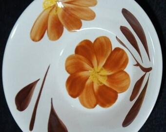 SALE TWO Vintage Porcelain Serving Bowls Hand Painted Floral