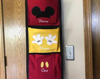 Personalized Custom made Fish Extender 1,2,3 or 4 Pocket Mouse Parts
