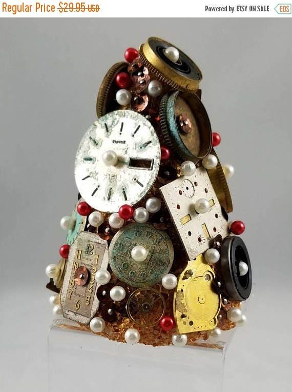 CYBER MONDAY Vintage  Mini Christmas  Tree